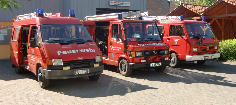 Feuerwehren Matzenbach, Quirnbach und Rehweiler